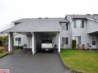 Photo 1: 39 26970 32ND Avenue in Langley: Aldergrove Langley Townhouse for sale : MLS®# F1204276