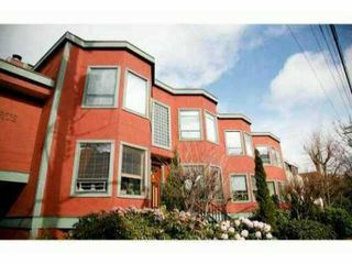 Photo 1: 8 1081 West 8th Avenue in Vancouver: Fairview VW Townhouse for sale (Vancouver West)  : MLS®# V987588