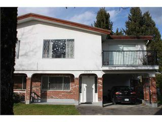 Photo 1: 6677 CURTIS Street in Burnaby: Sperling-Duthie House 1/2 Duplex for sale (Burnaby North)  : MLS®# V1050057
