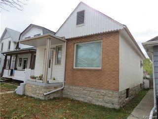Photo 1: 1460 Bannatyne Avenue in WINNIPEG: Brooklands / Weston Residential for sale (West Winnipeg)  : MLS®# 1425292