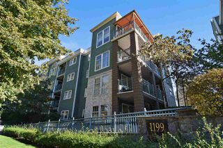 "Photo 1: 303 1199 WESTWOOD Street in Coquitlam: North Coquitlam Condo for sale in ""Lakeside Terrace"" : MLS®# R2117490"
