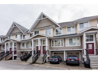 "Photo 1: 26 20159 68 Avenue in Langley: Willoughby Heights Townhouse for sale in ""VANTAGE"" : MLS®# R2133104"