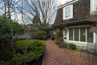 "Photo 1: 1443 MCRAE Avenue in Vancouver: Shaughnessy Townhouse for sale in ""MCRAE MEWS"" (Vancouver West)  : MLS®# R2140169"