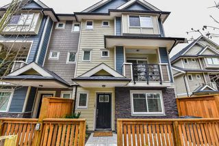 "Photo 1: 28 14285 64 Avenue in Surrey: East Newton Townhouse for sale in ""ARIA LIVING"" : MLS®# R2152399"