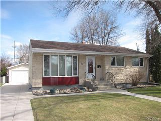 Photo 1: 787 Adamdell Crescent in Winnipeg: Residential for sale (3B)  : MLS®# 1710629
