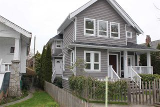 Photo 1: 2727 W 8TH Avenue in Vancouver: Kitsilano House 1/2 Duplex for sale (Vancouver West)  : MLS®# R2255865