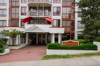 """Photo 20: 407 220 ELEVENTH Street in New Westminster: Uptown NW Condo for sale in """"QUEENS COVE"""" : MLS®# R2275679"""