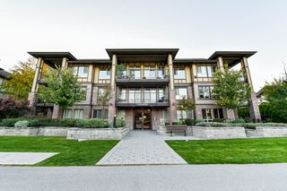 "Photo 1: 301 8733 160 Street in Surrey: Fleetwood Tynehead Condo for sale in ""Manarola"" : MLS®# R2313401"
