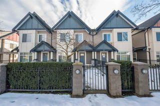 Photo 1: 13 7028 ASH Street in Richmond: McLennan North Townhouse for sale : MLS®# R2343631
