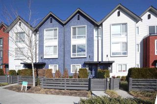 "Photo 1: 66 2310 RANGER Lane in Port Coquitlam: Riverwood Townhouse for sale in ""FREMONT BLUE"" : MLS®# R2346448"