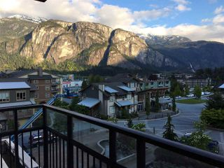"Main Photo: 416 1211 VILLAGE GREEN Way in Squamish: Downtown SQ Condo for sale in ""Rockcliff"" : MLS®# R2359157"