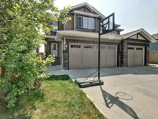 Main Photo: 3133 Whitelaw Drive in Edmonton: Zone 56 House Half Duplex for sale : MLS®# E4176350