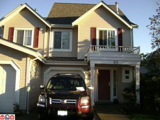 "Main Photo: 65 13499 92ND Avenue in Surrey: Queen Mary Park Surrey Townhouse for sale in ""CHATHAM LANE"" : MLS®# F1113399"