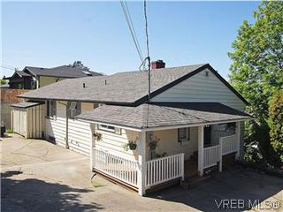 Photo 1: 518 Broadway Street in VICTORIA: SW Glanford Single Family Detached for sale (Saanich West)  : MLS®# 298647