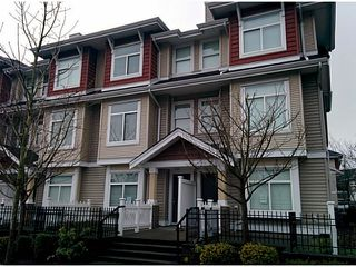 "Photo 1: 5 8655 159TH Street in Surrey: Fleetwood Tynehead Townhouse for sale in ""SPRINGFIELD COURT"" : MLS®# F1406166"