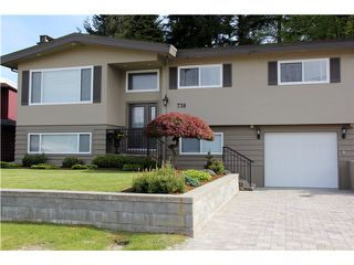 Photo 1: 738 ELLICE Avenue in Coquitlam: Coquitlam West House for sale : MLS®# V1065624