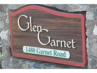 Photo 3: 30 1480 Garnet Road in VICTORIA: SE Cedar Hill Townhouse for sale (Saanich East)  : MLS®# 346473