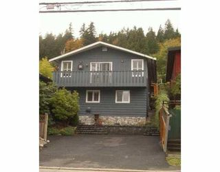 Main Photo: 1931 DEEP COVE Road in North Vancouver: Deep Cove House for sale : MLS®# V618727