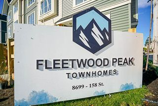 "Photo 10: 6 8699 158 Street in Surrey: Fleetwood Tynehead Townhouse for sale in ""FLEETWOOD PEAK"" : MLS®# R2211833"