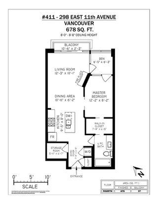 "Photo 20: 411 298 E 11TH Avenue in Vancouver: Mount Pleasant VE Condo for sale in ""THE SOPHIA"" (Vancouver East)  : MLS®# R2302593"