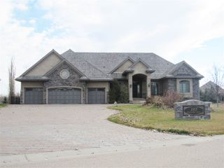 Main Photo: 185 Riverstone Drive: Rural Sturgeon County House for sale : MLS®# E4134304
