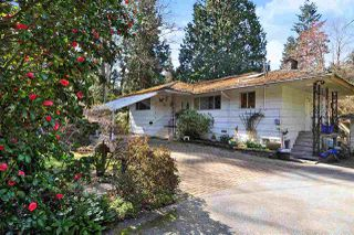 Main Photo: 5660 MARINE Drive in West Vancouver: Eagle Harbour House for sale : MLS®# R2353935