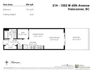 """Photo 15: 214 1503 W 65TH Avenue in Vancouver: S.W. Marine Condo for sale in """"The Soho"""" (Vancouver West)  : MLS®# R2354527"""