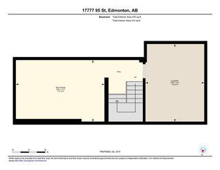 Photo 30: 17777 95 Street in Edmonton: Zone 28 Townhouse for sale : MLS®# E4152477
