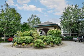 "Photo 1: 335 19528 FRASER Highway in Surrey: Cloverdale BC Condo for sale in ""THE FAIRMONT"" (Cloverdale)  : MLS®# R2469719"