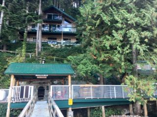"""Photo 1: 32 JOHNSON Bay in North Vancouver: Indian Arm House for sale in """"Johnson Bay"""" : MLS®# R2497994"""