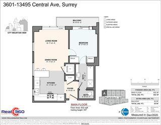 "Photo 23: 3601 13495 CENTRAL Avenue in Surrey: Whalley Condo for sale in ""3 CIVIC PLAZA"" (North Surrey)  : MLS®# R2521580"