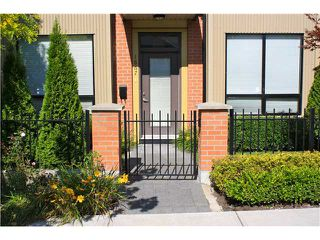 """Photo 1: 1867 STAINSBURY Avenue in Vancouver: Victoria VE Townhouse for sale in """"The Works"""" (Vancouver East)  : MLS®# V909355"""