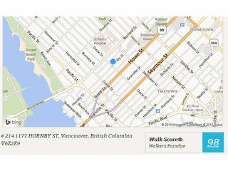"Photo 2: 214 1177 HORNBY Street in Vancouver: Downtown VW Condo for sale in ""LONDON PLACE"" (Vancouver West)  : MLS®# V1062008"