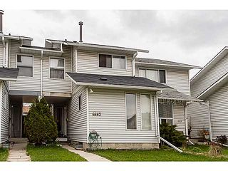Photo 1: 6662 TEMPLE Drive NE in CALGARY: Temple Residential Attached for sale (Calgary)  : MLS®# C3615955