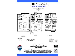 "Photo 4: 7 801 RODERICK Avenue in Coquitlam: Coquitlam West Townhouse for sale in ""THE VILLAGE @ BLUE MOUNTAIN"" : MLS®# V1103697"
