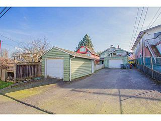 """Photo 16: 2875 TRINITY Street in Vancouver: Hastings East House for sale in """"SUNRISE/EAST VILLAGE"""" (Vancouver East)  : MLS®# V1109853"""