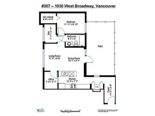 "Photo 20: 307 1030 W BROADWAY in Vancouver: Fairview VW Condo for sale in ""La Columba"" (Vancouver West)  : MLS®# V1143142"