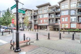 "Photo 1: 408 101 MORRISSEY Road in Port Moody: Port Moody Centre Condo for sale in ""LIBRA AT SUTER BROOK VILLAGE"" : MLS®# R2010339"