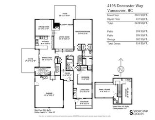 """Photo 37: 4195 DONCASTER Way in Vancouver: Dunbar House for sale in """"DUNBAR"""" (Vancouver West)  : MLS®# R2238162"""
