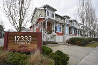 "Photo 1: 1 12333 ENGLISH Avenue in Richmond: Steveston South Townhouse for sale in ""IMPERIAL LANDING"" : MLS®# R2340054"
