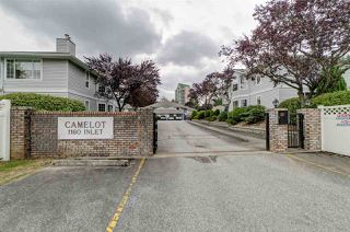 "Photo 1: 3 1160 INLET Street in Coquitlam: New Horizons Townhouse for sale in ""Camelot"" : MLS®# R2386788"