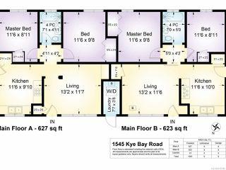 Photo 9: 1545 Kye Bay Rd in COMOX: CV Comox (Town of) Full Duplex for sale (Comox Valley)  : MLS®# 835740