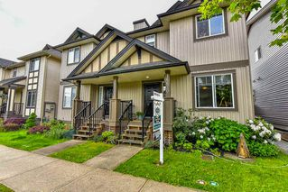 Photo 1: 16620 60TH Avenue in Surrey: Cloverdale BC House 1/2 Duplex for sale (Cloverdale)  : MLS®# R2063363