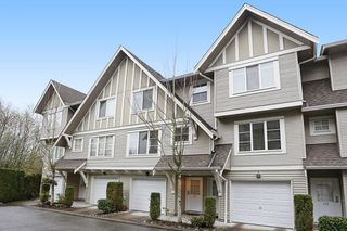 "Photo 1: 117 15175 62A Avenue in Surrey: Sullivan Station Townhouse for sale in ""BROOKLANDS"" : MLS®# R2121725"