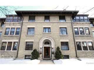 Photo 1: 544 Wardlaw Avenue in Winnipeg: Osborne Village Condominium for sale (1B)  : MLS®# 1704481