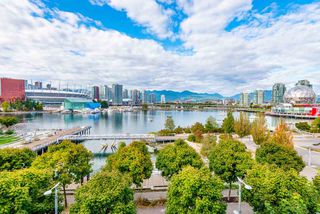 "Photo 1: 502 118 ATHLETES Way in Vancouver: False Creek Condo for sale in ""Shoreline at the Village on False Creek"" (Vancouver West)  : MLS®# R2208955"