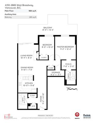 """Photo 17: 212 2665 W BROADWAY in Vancouver: Kitsilano Condo for sale in """"THE MAGUIRE BUILDING"""" (Vancouver West)  : MLS®# R2209718"""