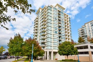 "Photo 1: 803 7555 ALDERBRIDGE Way in Richmond: Brighouse Condo for sale in ""Ocean Walk"" : MLS®# R2324375"