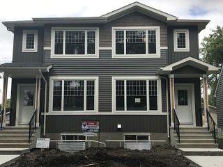 Main Photo: 12312 102 Street in Edmonton: Zone 08 House Half Duplex for sale : MLS®# E4137467