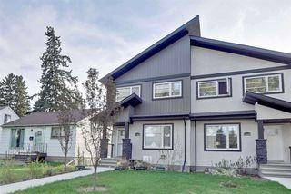 Main Photo: 11234 105 Street in Edmonton: Zone 08 House Half Duplex for sale : MLS®# E4139231